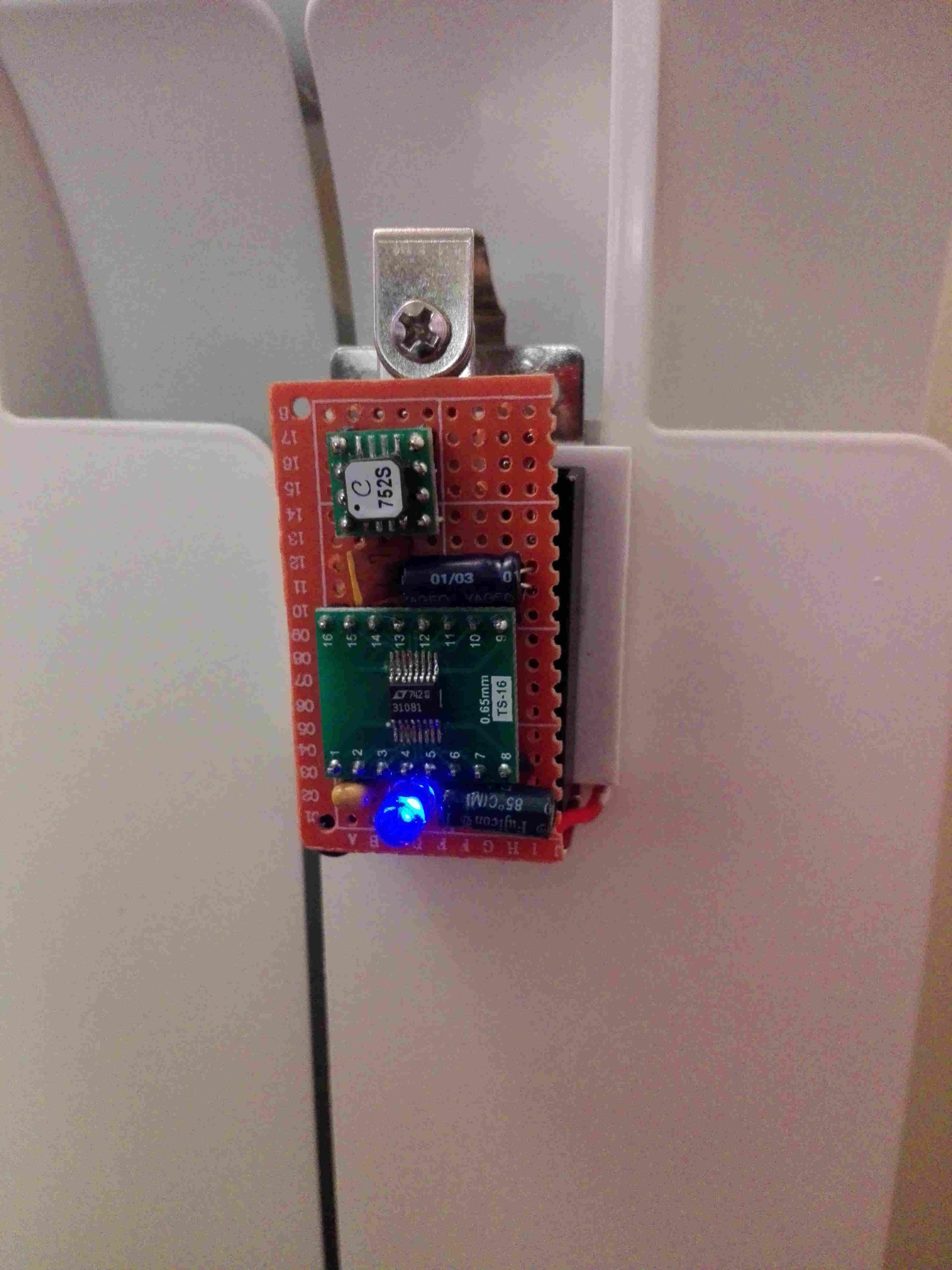 Schema Elettrico Elevatore Di Tensione : Sensore termosifone