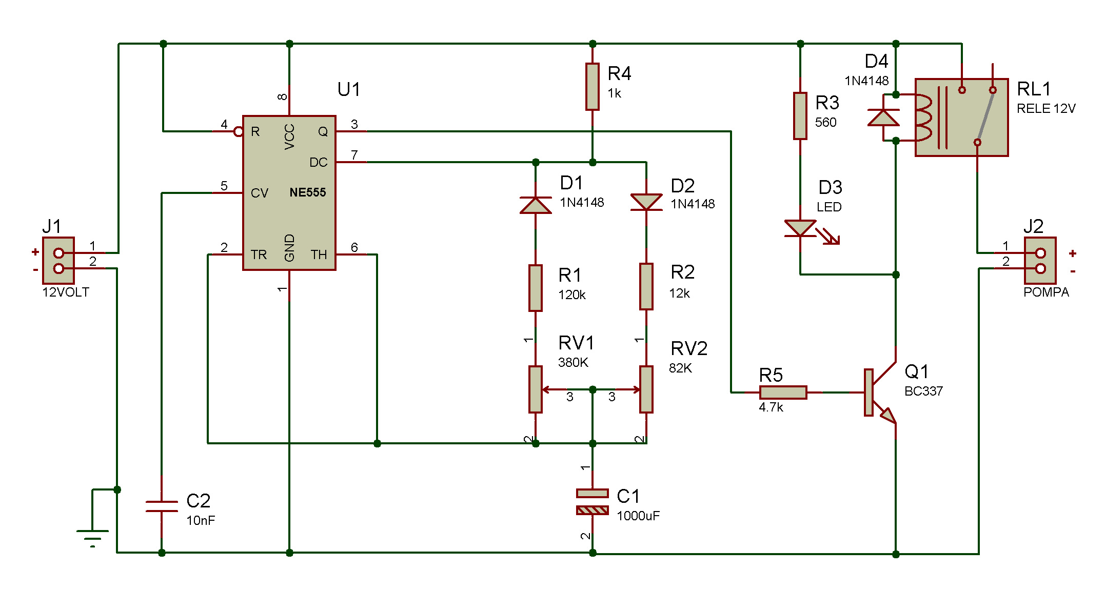 Timer555 Ic555internaldiagram Since Early 1971 The 555 Remains Most Versatile Timer Ic It Is Possible To Consult Large Amount Of Literature Online Understand His Functions